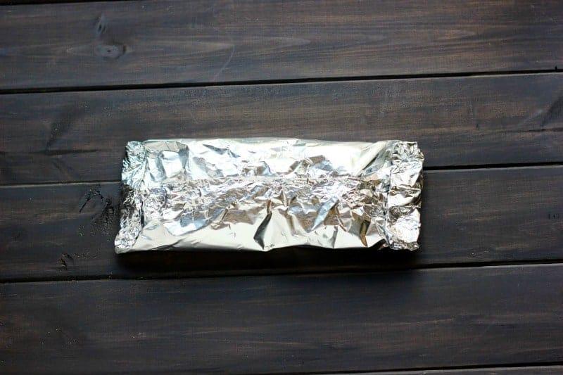 tin foil pack