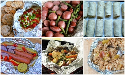 tin foil recipes