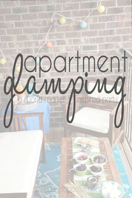 apartment glamping with world market