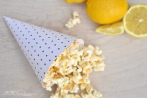 Printable 4th of July Popcorn Cones