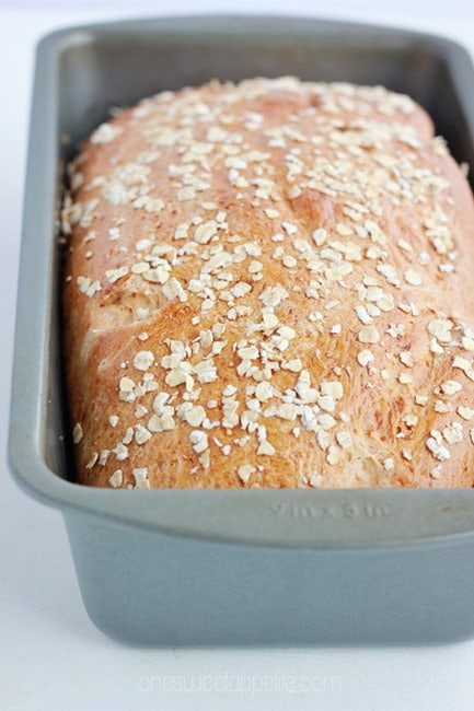 honey oat bread homemade recipe