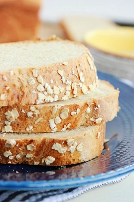 honey oat bread easy recipe