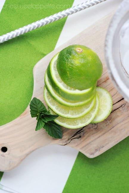 mojito limeade limes