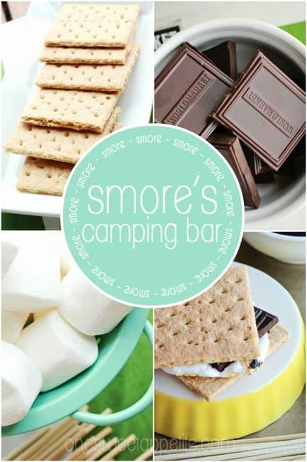 smores bar camping
