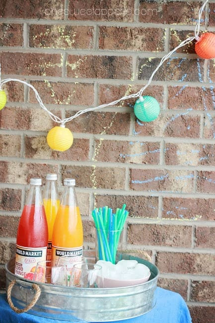 apartment glamping drinks