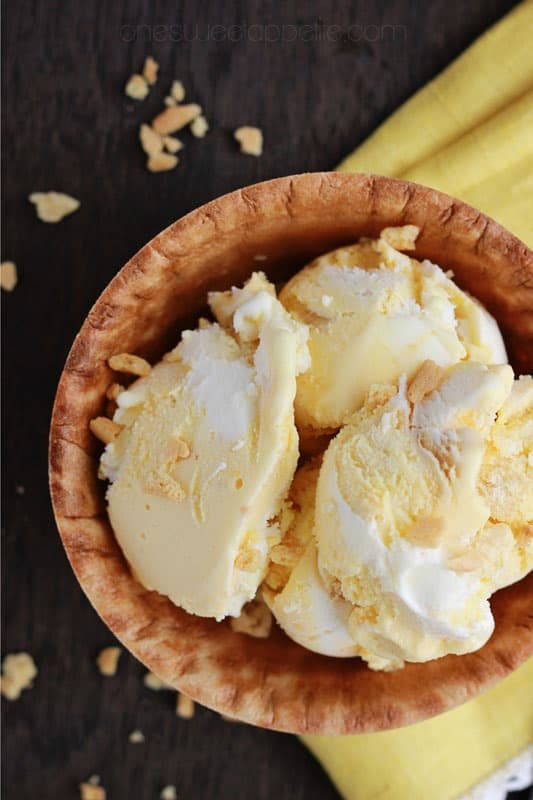 banana pudding ice cream no churn