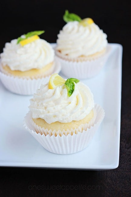 lemon basil cupcakes recipe
