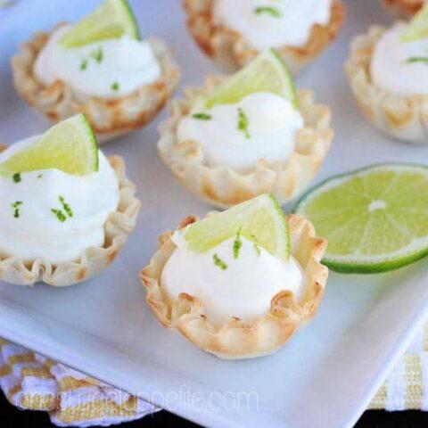 Key Lime Mousse Bites
