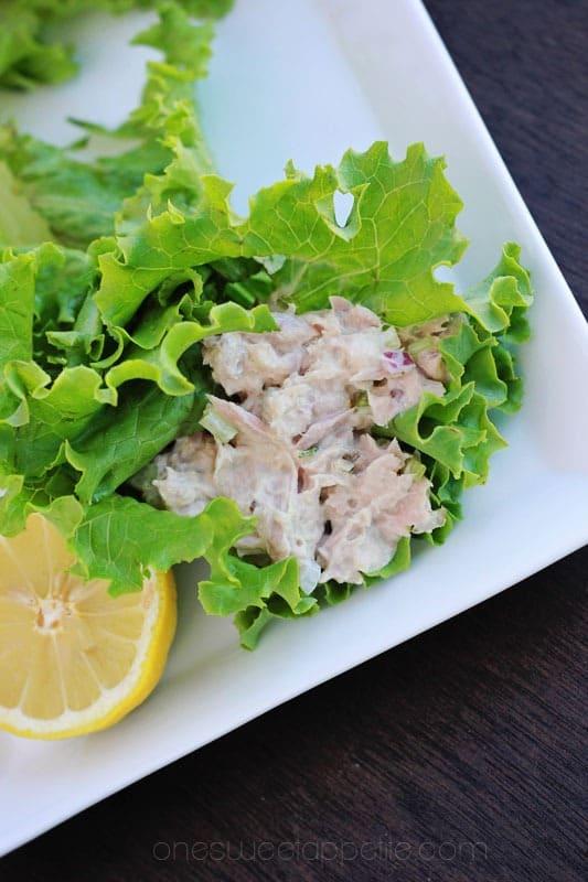 Perfect Tuna Salad wrap