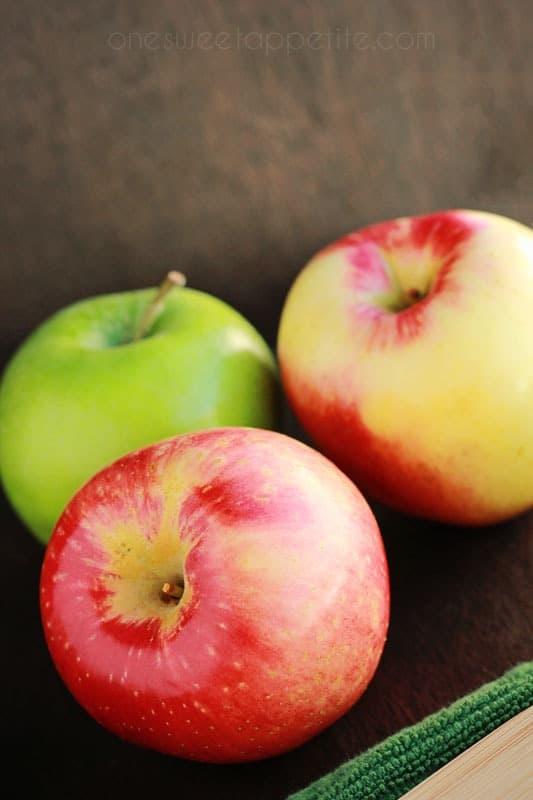 caramel apple cupcake ingredients