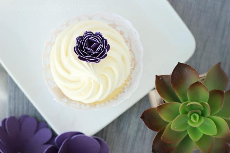 white chocolate cupcake cake mix hack