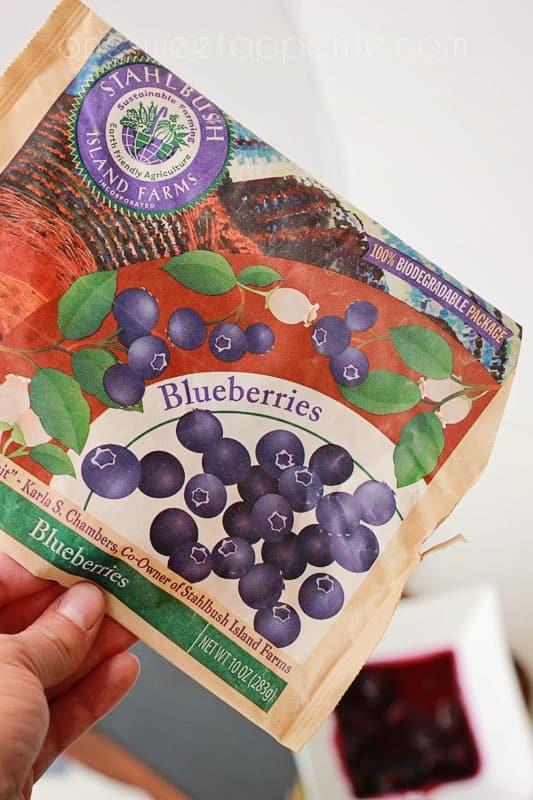 blueberry cobbler ingredients
