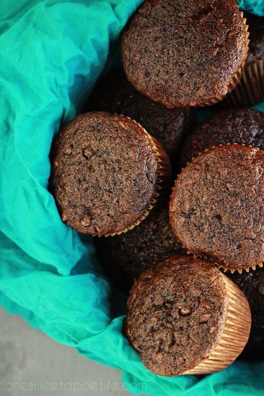 chocolate banana muffins recipe