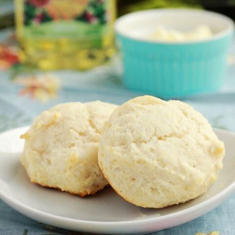 Easy Olive Oil Drop Biscuits