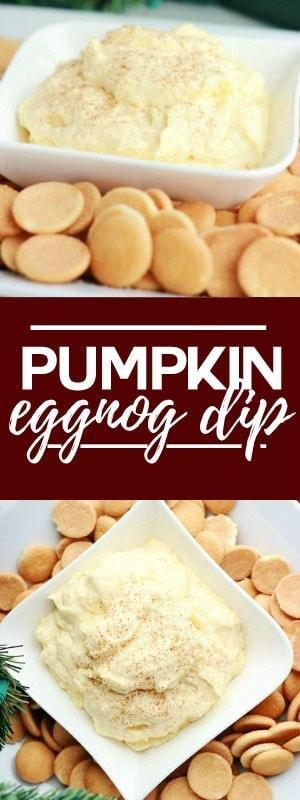 Pumpkin Eggnog Dip Recipe