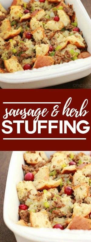Sausage and Herb Stuffing Recipe