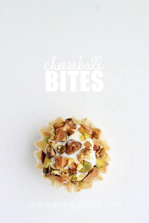 Cheeseball Bites