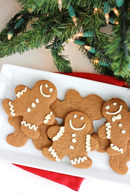25. Gingerbread Cookies | One Sweet Appetite (featured in collage)