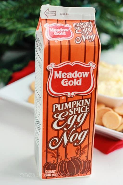 pumpkin spice eggnog