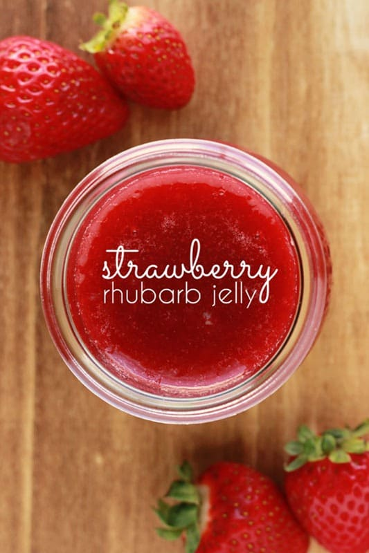 strawberry rhubarb jelly recipe