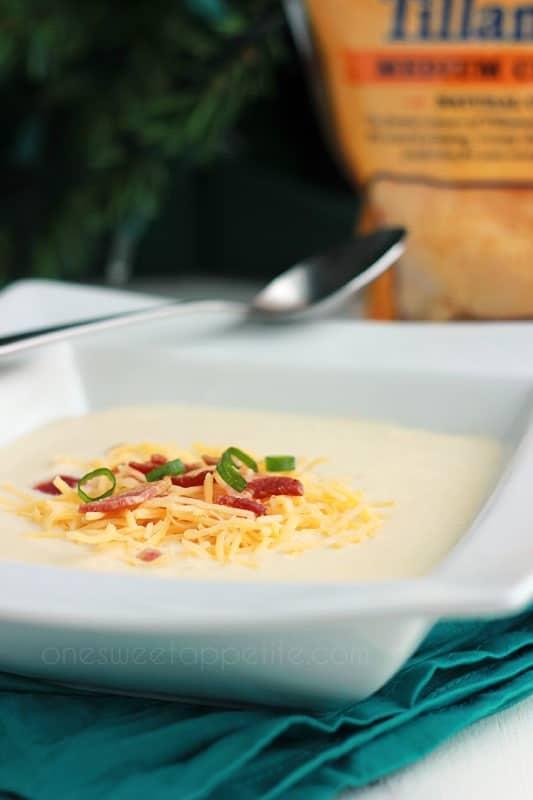 Wisconsin cauliflower soup copycat