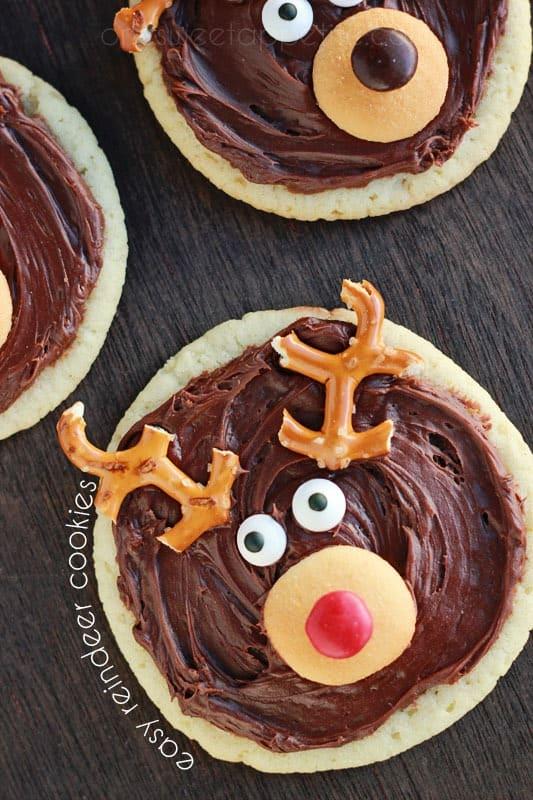 reindeer sugar cookies recipe