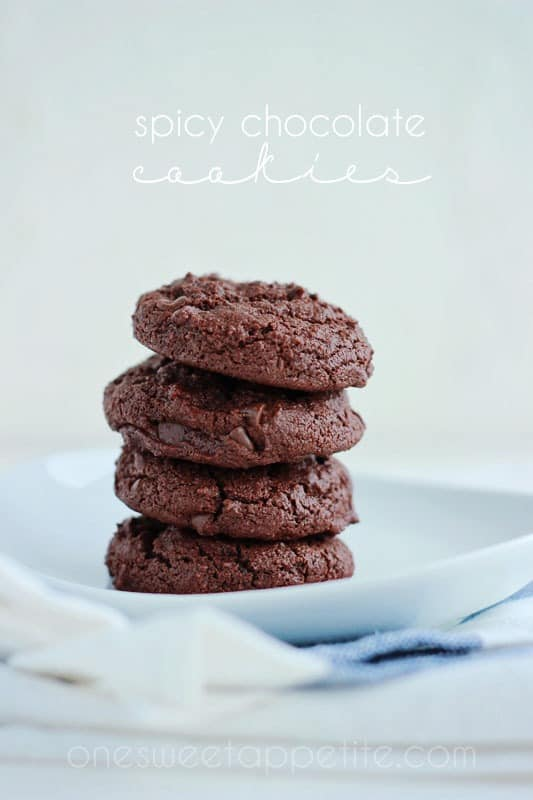 spicy chocolate cookies recipe