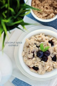 Coconut Spice Oatmeal