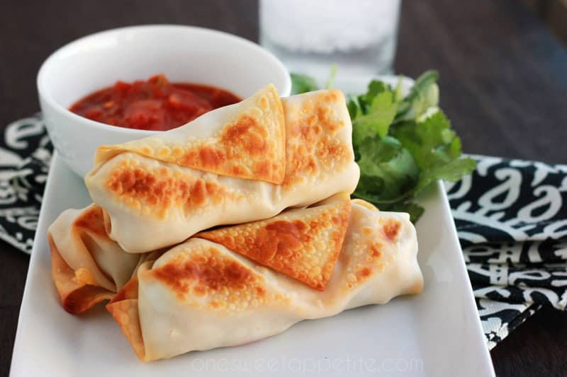 Philly cheese steak egg rolls recipe