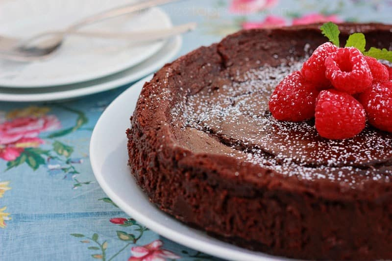 Flourless Chocolate Cake -