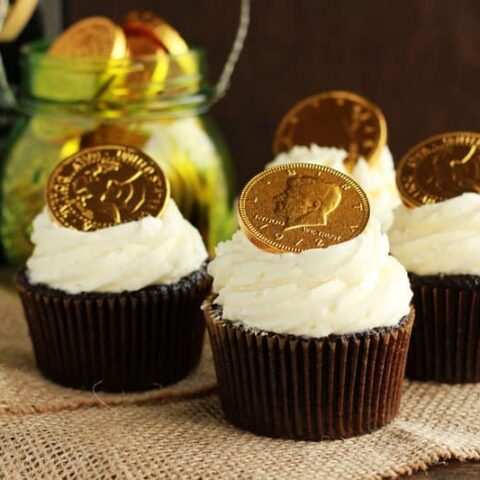 Stout Whiskey Cupcakes