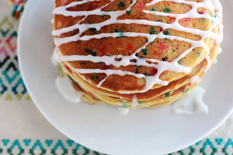 cake batter pancake recipe