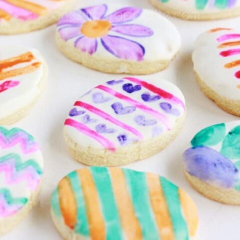 How To Decorate Watercolor Cookies