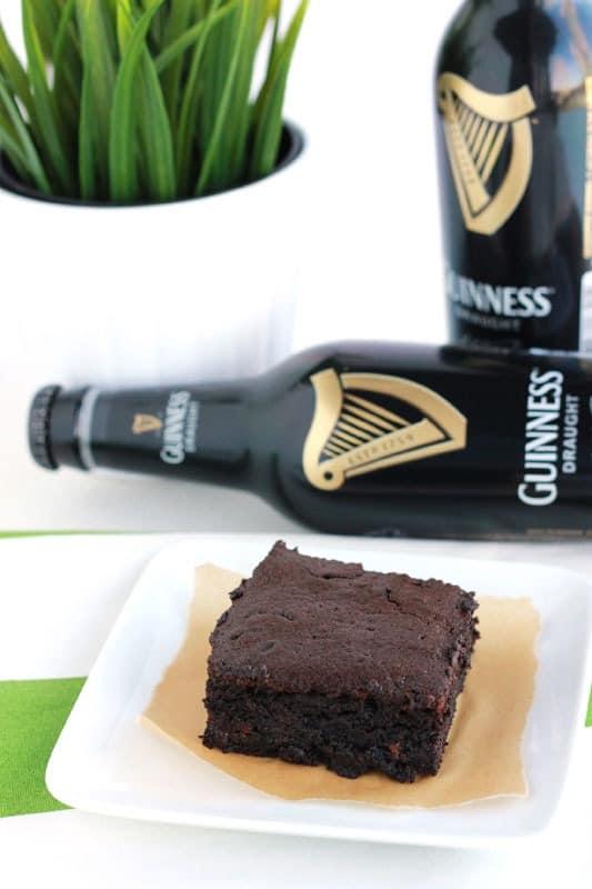 Guinness Brownies dessert