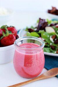 Strawberry Champagne Vinaigrette