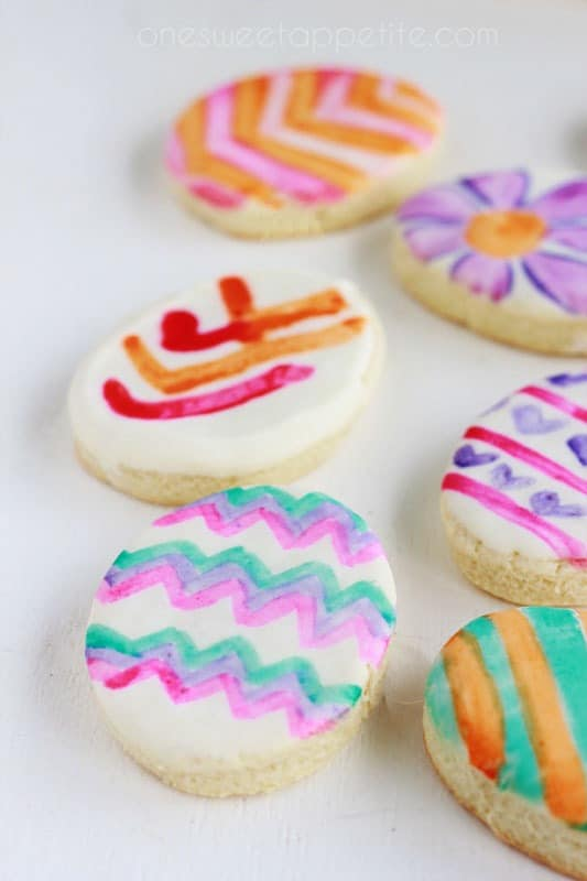 water color cookies recipe