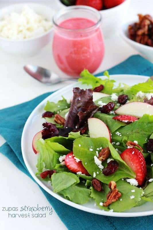 Zupas Strawberry harvest salad