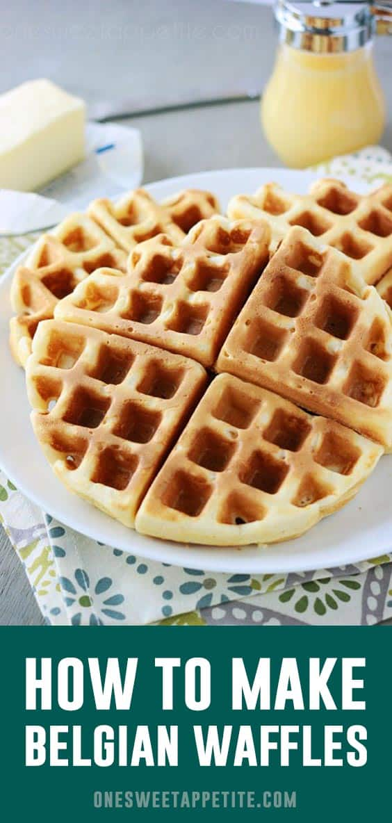 These Perfect Belgian Waffles are a family favorite! Light, fluffy, and simply delicious. You will never need another waffle recipe!