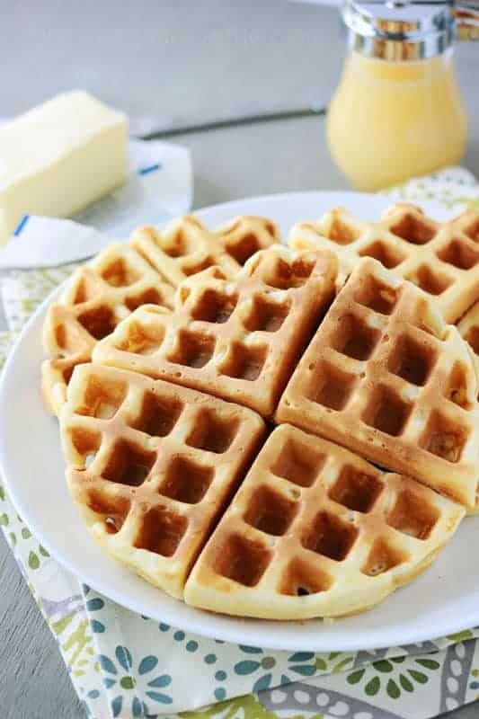 perfect belgian waffles recipe