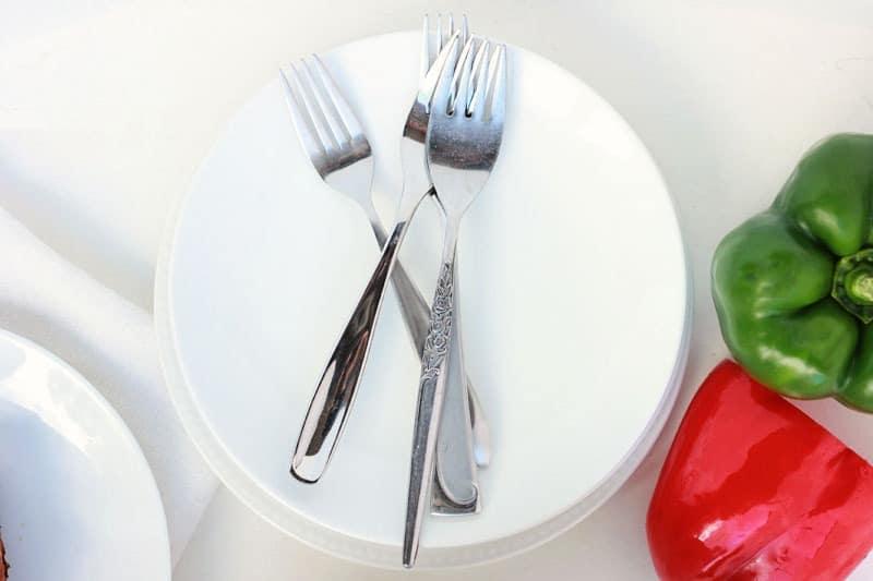 breakfast casserole plate