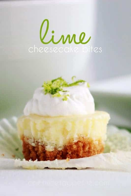 lime cheesecake bite recipe