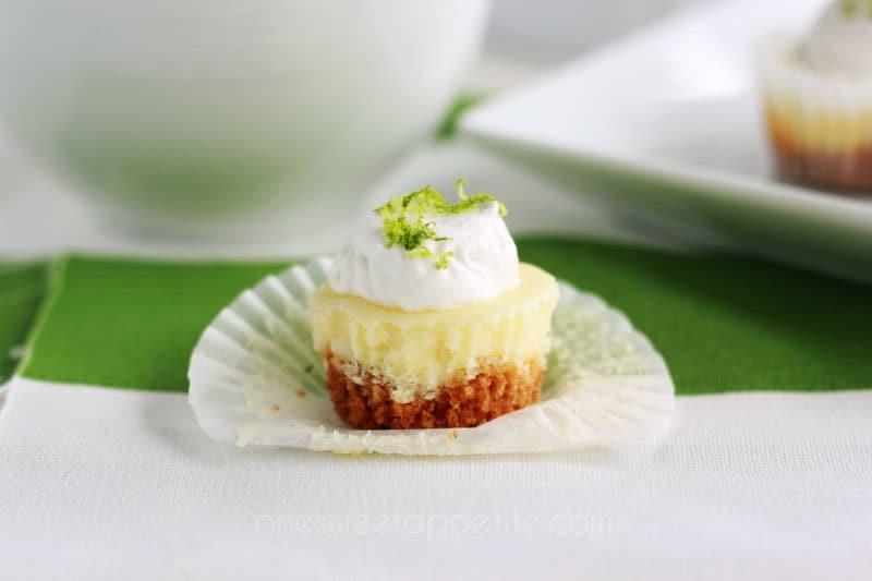 lime cheesecake bite dessert