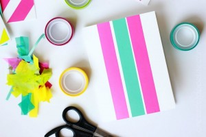 DIY washi tape cards