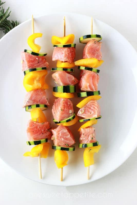 Salmon Kabobs recipe