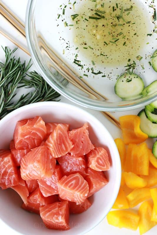 Salmon Kabobs ingredients