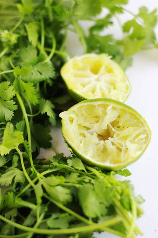 Cilantro Lime Ranch Ingredients