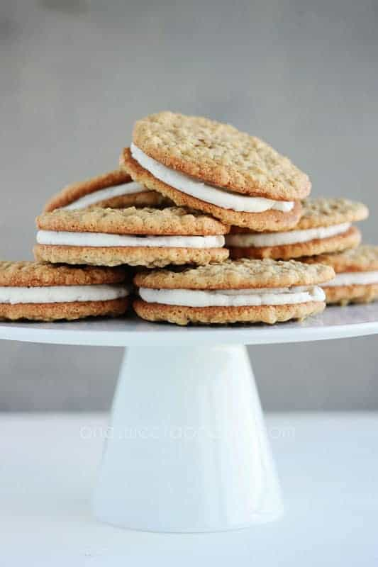 Oatmeal Cream Pie Recipe on One Sweet Appetite