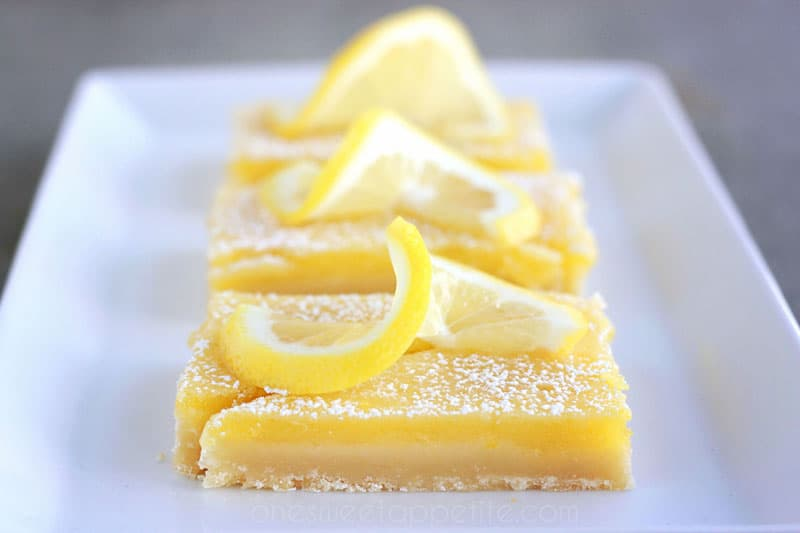 Perfect Lemon Pie Bars