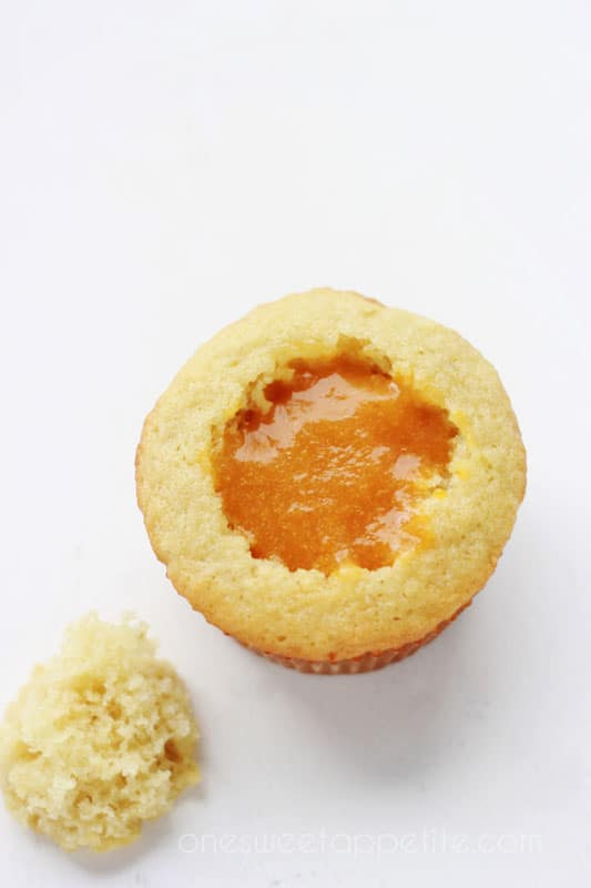Peach Cupcake Filling