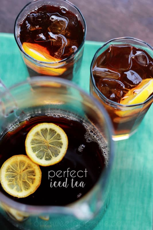 Perfect Iced Tea